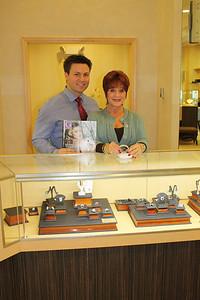 Brandon Katzeff jewelry designer and mother, Joyce of Joyce's Jewelry