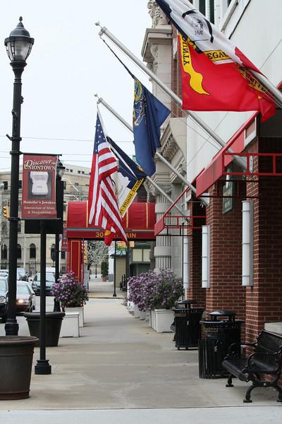 Main Street, Uniontown, Pa. Revitalized by Joe Hardy of 84 Lumber