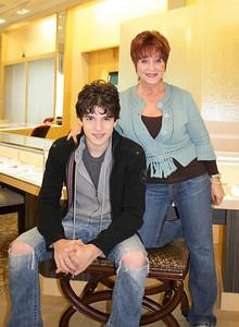 Justin Galloway and Joyce Katzoff
