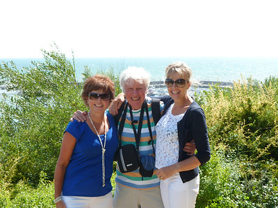 Julie, uncle Ronnie & Judith summer 2013