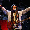 Fans in the crowd at the Julian Marley concert at Star Live in Beijing.