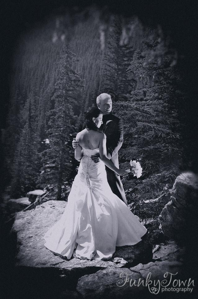Morraine Lake wedding Banff National Park Rocky mountain weddings canada