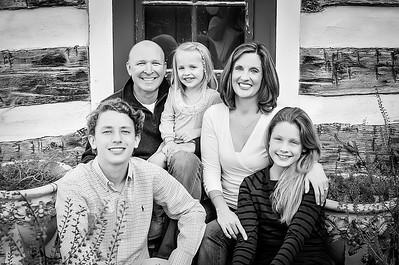 Happy Family bw (1 of 1)