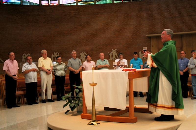 Fr. Tom Cassidy was the main celebrant at the closing Mass.