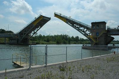 Welland Canal drawbridge