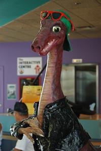 Smart dinosaur