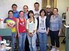 """Back row: James Bohnhoff, Lynette Cegelski, Michael Kim, Oscar McCrate<br /> Front row: Janine May, Amy Jacobson, Xiaoxue """"Snow"""" Zhou, Ji Youn Lim, Debbie Yager"""