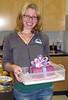 Marie's amazing cake creation for Elaine celebration.