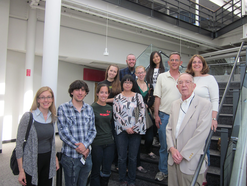 """Fascinating tour of the Computer History Museum  <a href=""""http://www.computerhistory.org"""">http://www.computerhistory.org</a>) with Professor Feigenbaum!"""