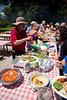 Rotary Club of Ventura members enjoy their July 2011 Summer Picnic.