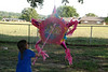 The kids got to break a pinata!!