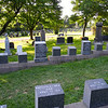 """Many Titanic graves were located here.  A grave marked """"J. Dawson"""" gained fame following the release of the 1997 film Titanic, since the name of Leonardo DiCaprio's character in the film is Jack Dawson."""