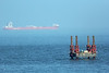 Drilling Rig Nigg Bay Aberdeen 19th July 2013