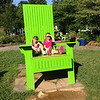 Destiny & Angel in the big chair