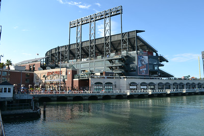 AT&T Park to catch a Giants baseball game