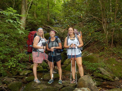 July Backpack Trip