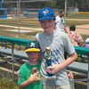 Nick and Alex Kestner are proudly holding their baseball trophies.<br /> <br /> Photographer's Name: Patty Kestner<br /> Photographer's City and State: Anderson, Ind.