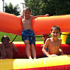 My boys Avery and Nolan Jarvis enjoying the summer heat with their friend Braden Allen on the giant slip-and-slide at Angela Johnson's home.<br /> <br /> Photographer's Name: Molly McCoy<br /> Photographer's City and State: Anderson, Ind.