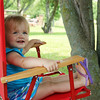 Lyla Kirby sitting back and enjoying a summer day<br /> <br /> Photographer's Name: Morgan Elbert<br /> Photographer's City and State: Alexandria, IN
