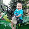 Great-grandson Landon Powers.<br /> <br /> Photographer's Name: Dennis Kumkowski<br /> Photographer's City and State: Anderson, Ind.