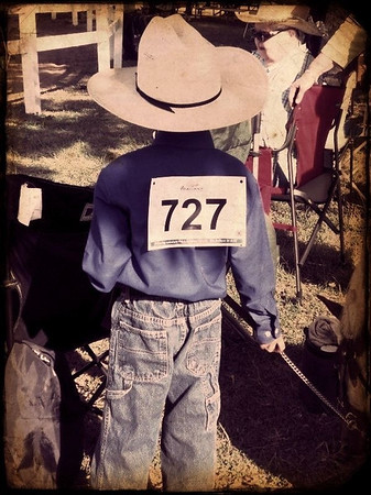 My grandson Austin Ryder ready to show his pony at the Madison County 4-H Fair.<br /> <br /> Photographer's Name: Becca Ryder<br /> Photographer's City and State: Anderson, Ind.