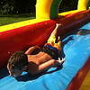 Braden Allen soaring down the slip n slide at his birthday party!<br /> <br /> Photographer's Name: Molly McCoy-<br /> Photographer's City and State: Anderson, IN