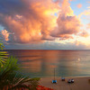 Saint Maarten sunset.<br /> <br /> Photographer's Name: Diane Sager<br /> Photographer's City and State: Anderson, Ind.
