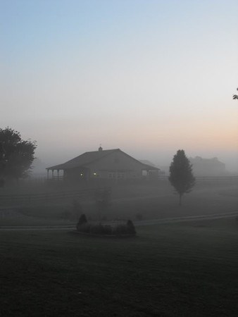 """""""Farm Fog"""",,,,,, Richland Twd.<br /> <br /> Photographer's Name: J. R. Rosencrans<br /> Photographer's City and State: Alexandria, IN"""