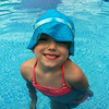 My stepdaughter Allie Ridenour (parents, Holly and Brandon Ridenour) swimming becuse it so hot out there.<br /> <br /> Photographer's Name: Holly Ridenour<br /> Photographer's City and State: Anderson, Ind.