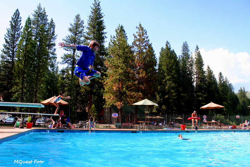 Jr Jumping-  Hume Lake (pool area)  - sequoia  -