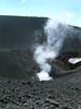 Sulphur fumes on Etna
