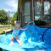 Weeeee... my little pool sure is fun!