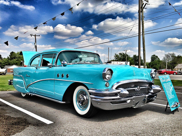 A 1955 Buick Special, taken in Albany, Ind. <br /> <br /> Photographer's Name: Jesse Lawson<br /> Photographer's City and State: Anderson, Ind.