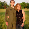 I'm with my son, Captain Jason Ayers, before moving to Okinawa Japan. He flies the C130 Talon<br /> <br /> Photographer's Name: Terry Lynn Ayers<br /> Photographer's City and State: Anderson, IN