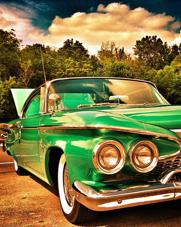 A 1961 Plymouth Fury in Albany, Ind.<br /> <br /> Photographer's Name: Jesse Lawson<br /> Photographer's City and State: Anderson, Ind.