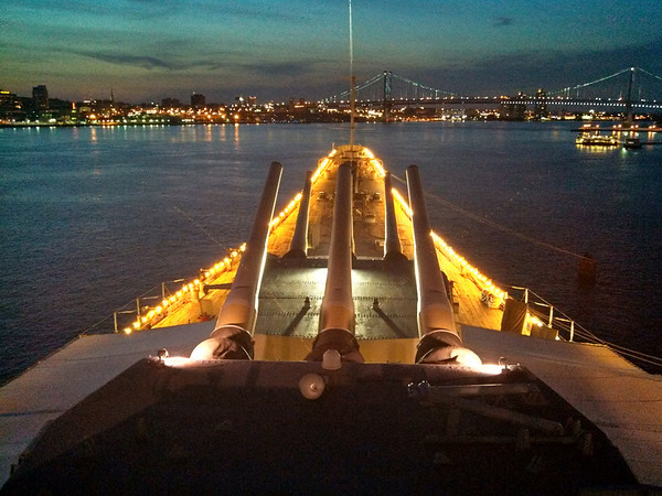 Awesome view from the bridge of the USS New Jersey, Battleship with BSA Troop 253<br /> <br /> Photographer's Name: Jim Wehrly<br /> Photographer's City and State: Anderson, Ind.