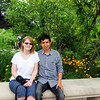Angel Hernandez and Morgan Elbert enjoying the day at  the Indianapolis Zoo and White River Gardens<br /> <br /> Photographer's Name: Morgan Elbert<br /> Photographer's City and State: Alexandria, IN