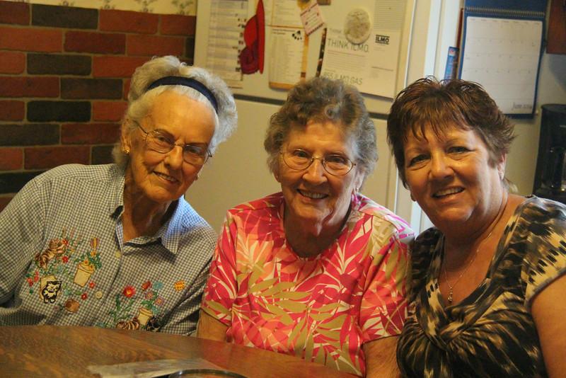 Pearl Sury, LaVera Wilhelm, & Sharon Jasper-Zenik