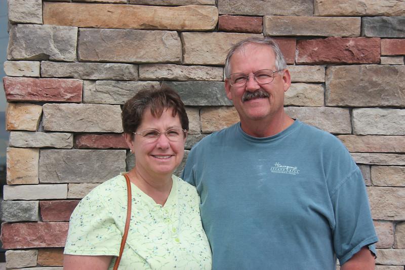Jill and Chuck Brenkendorff