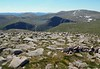 Ben Macdui from Cairngorm on a cloudless Sunday 24th June 2018