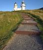 Kinnaird Head lighthouse at Fraserburgh on Wednesday 27th June 2018