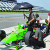 IndyCar Testing Auto Racing
