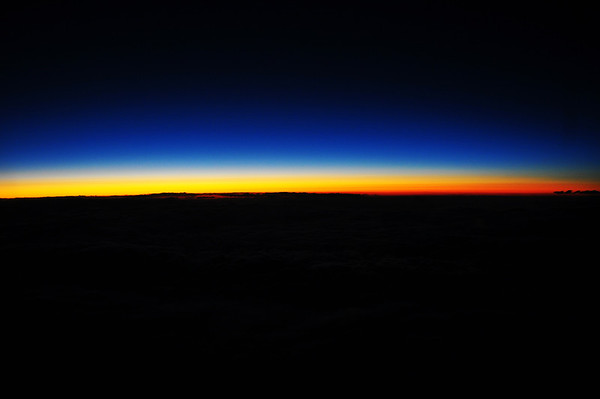 June 27 Skyline from Airplane Back to Arizona