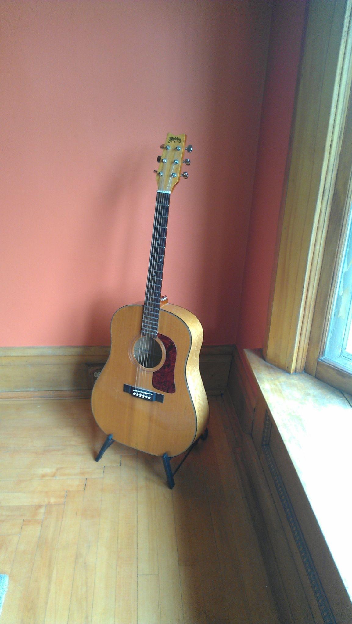 Bryan's guitar