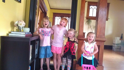 Four cousins/granddaughters