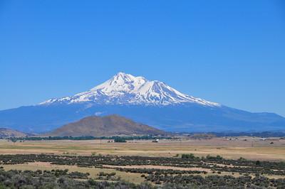 Mt. Shasta along I-5 CA.