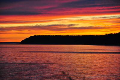 Sunset #1           6-05-2010