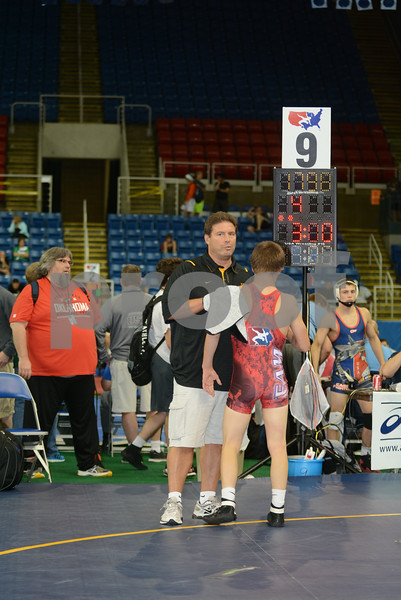 2014 USAW Junior Freestyle Nationals<br /> 113 - Quarterfinal - Montorie Bridges (Oklahoma) over Tanner Rohweder (Iowa) (Dec 15-10)
