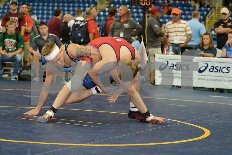 2014 USAW Junior Freestyle Nationals<br /> 138 - Quarterfinal - Seth Gross (Minnesota) over Logan Ryan (Iowa) (Dec 6-1)