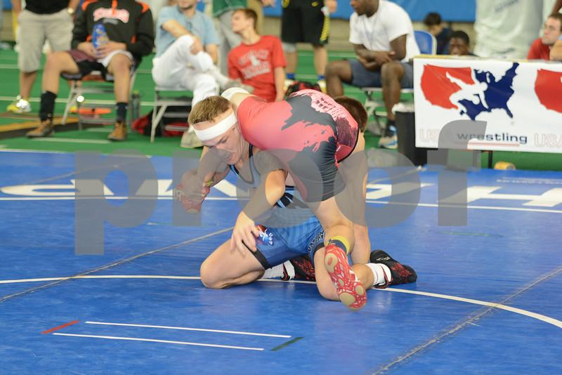 2014 USAW Junior Freestyle Nationals<br /> 138 - Cons. Round 9 - Zehlin Storr (Michigan) over Logan Ryan (Iowa) (Dec 5-1)